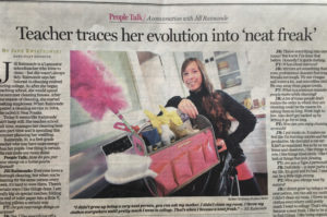 Jill in Buffalo News for Neat Freaks